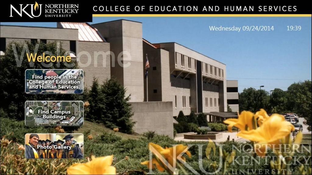 northern kentucky university wayfinding